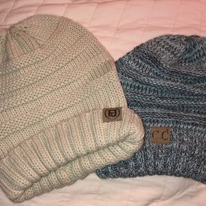 Set of Two Beanies